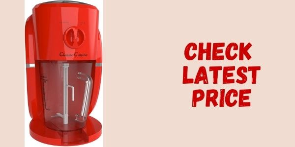 Frozen Drink Maker and Ice Crusher Machine for Margaritas By Classic Cuisine